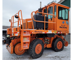 RK330-G5 2012 Used Rail King Mobile Railcar Mover