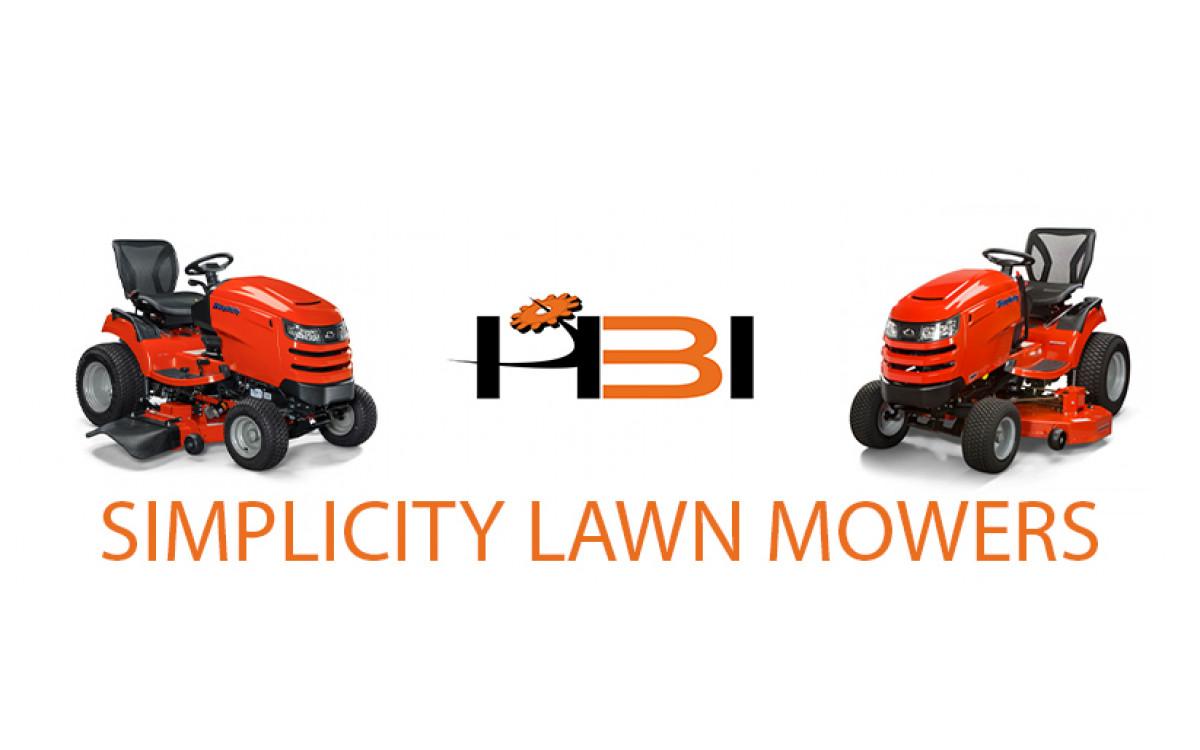 HBI Simplicity Lawn Mowers
