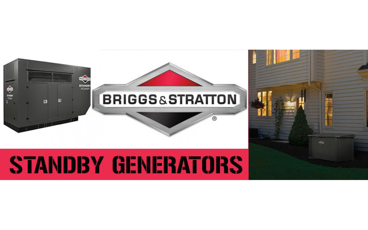 Briggs & Stratton Standby Fortress Generators