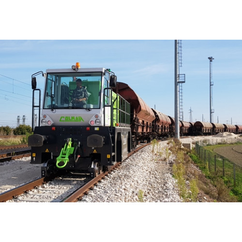 SL90E Electric Railcar Mover Colmar