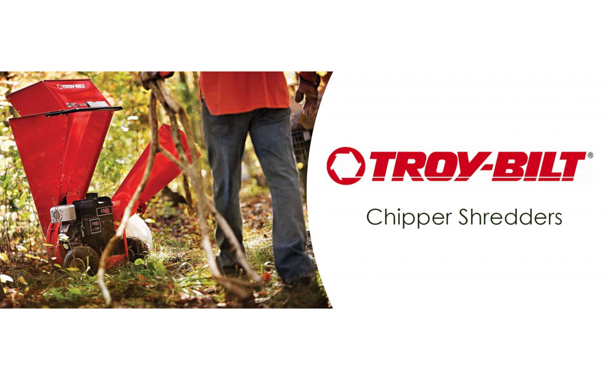 Troy-Bilt Chipper Shredders
