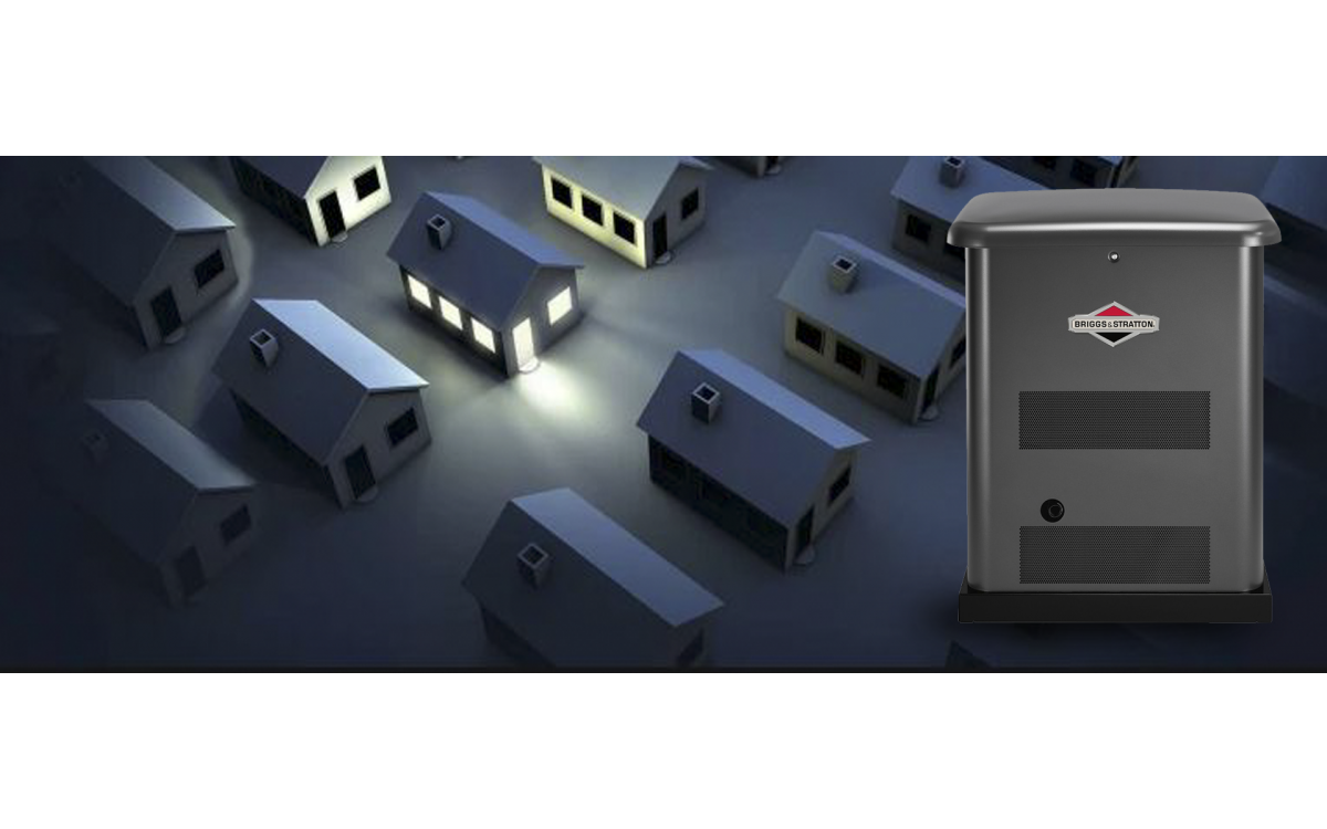 Be prepared for power outages with a standby generator