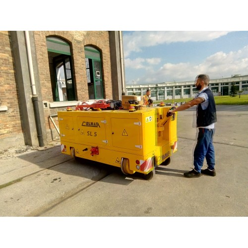 SL5E Electric Railcar Mover Colmar