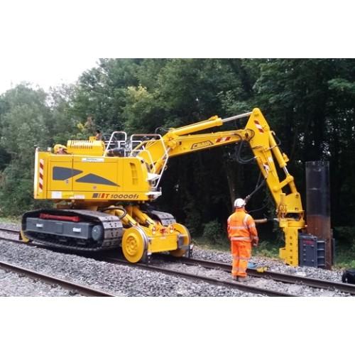 T10000FSC Railroad Tracked Excavator Colmar