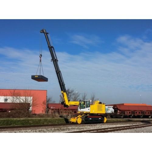 T10000FSCG Railroad Tracked Crane Colmar