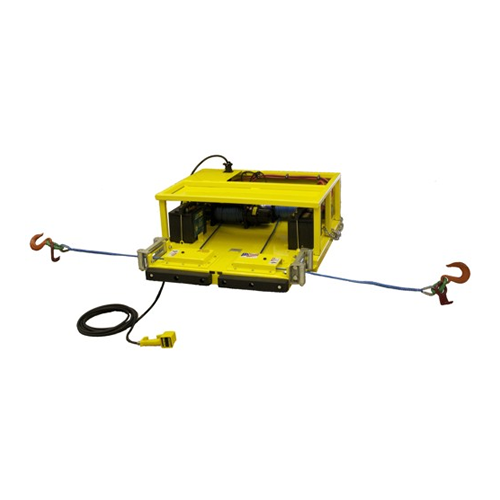 Boxcar Door Opener - Double Rope Winch