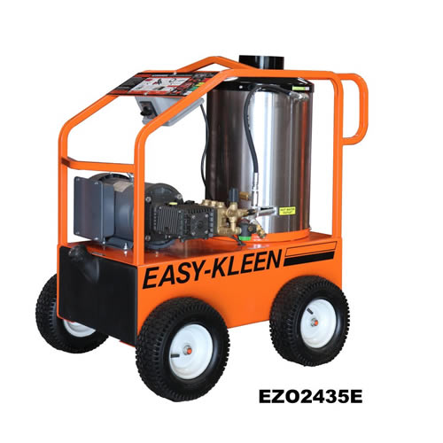 Commercial Electric Hot Water Pressure Washer - EZO2435E-GP