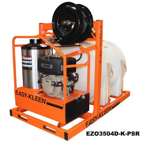 Portable Pickup Truck Skid Hot Water Pressure Washer - EZO3504D-K-PSR