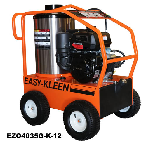 Commercial Hot Water Gas Driven Pressure Washer EZO4035G-K-12