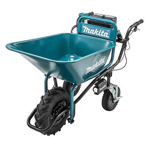 Power-Assisted Wheelbarrow with Bucket