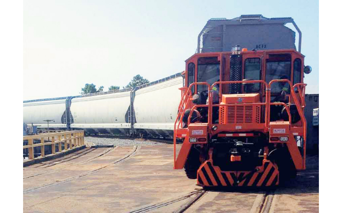Rail King Mobile Railcar Movers