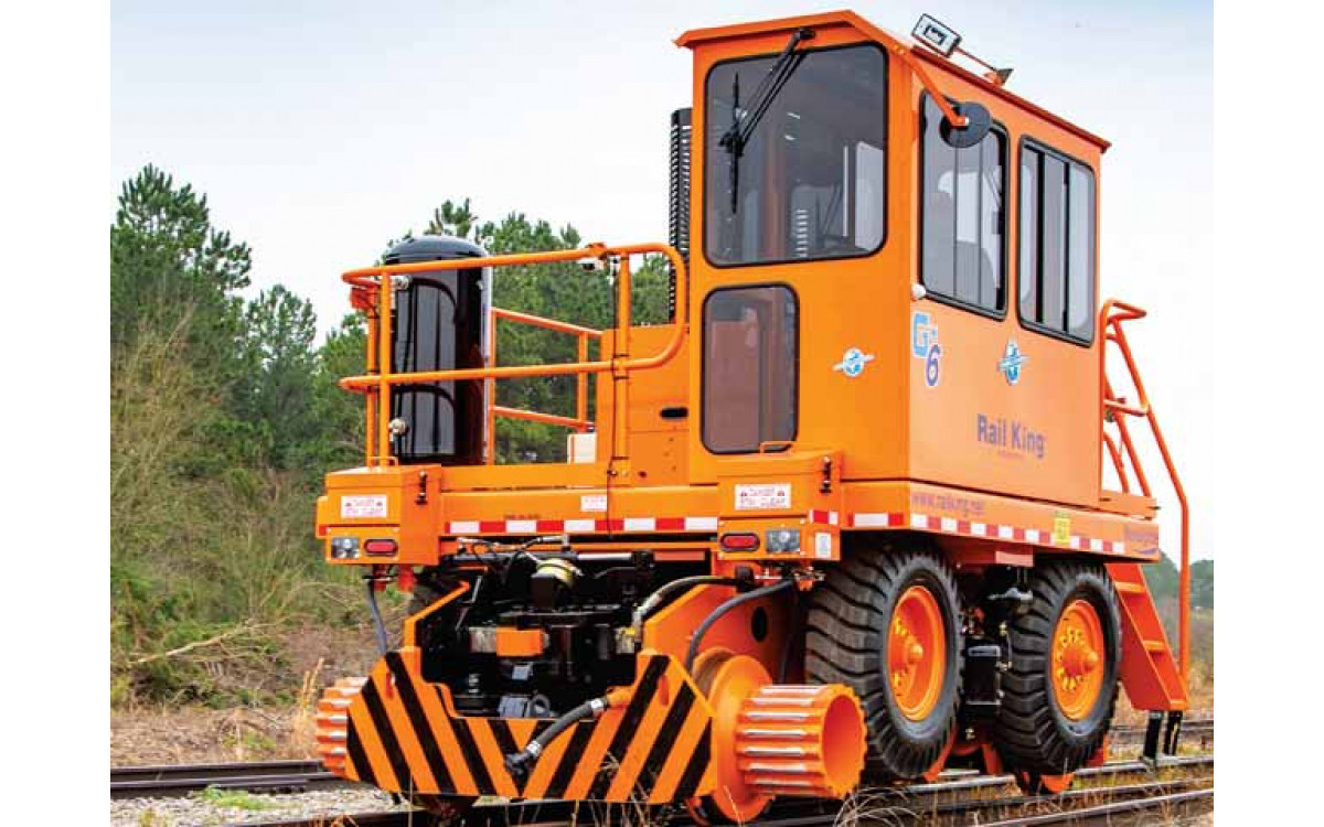 Used Mobile Railcar Movers from Rail King