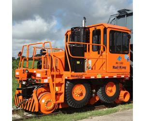RK330-G6 2015 RCM1122-6 Rail King  Mobile Railcar Mover - Used