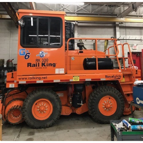 RK330-G6 2015 RCM1123-6 Rail King  Mobile Railcar Mover - Used