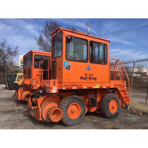 Rail King Mobile Railcar Mover RK285-G4 - Used