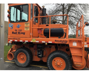 RK330-G5 2015 Used Rail King Mobile Railcar Mover with Remotes