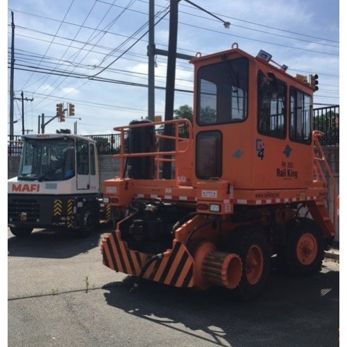 Rail King Mobile Railcar Mover RK285 G4 - Used 2016