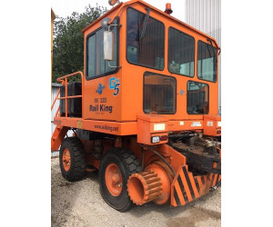 RK320-G5 2012 Used Rail King Mobile Railcar Mover