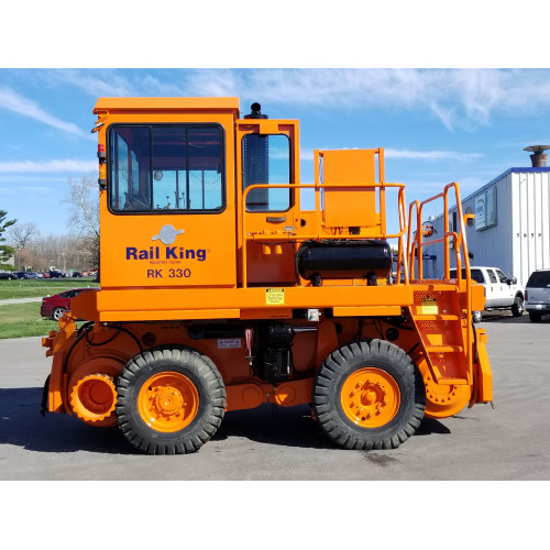 RK330  2006 Used Rail King Mobile Railcar Mover with Remotes