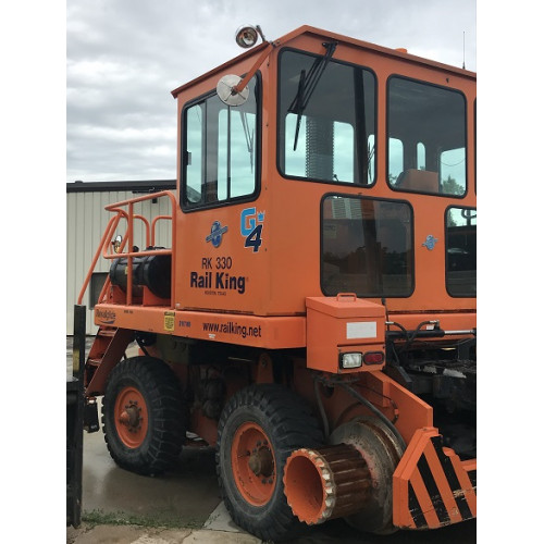 RK330-G4 2011 RCM895-4 Rail King Mobile Railcar Mover - Used