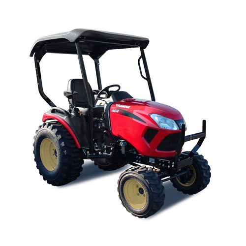 Compact Tractor - 24HP - Loader and 4 Post Rops