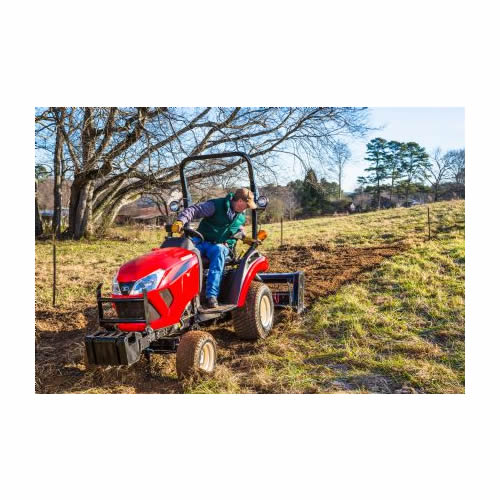 Compact Tractor - 21HP - Loader and Backhoe