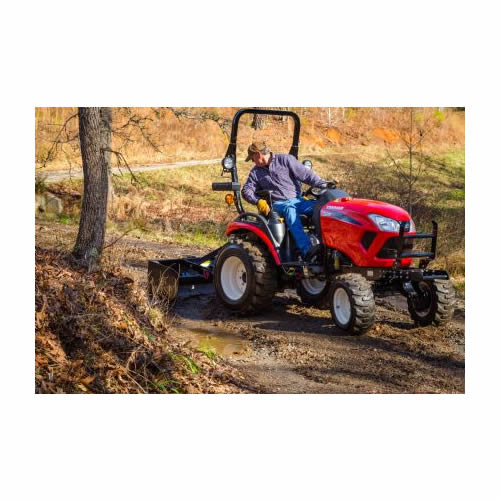 Compact Tractor - 24HP - Loader and Backhoe
