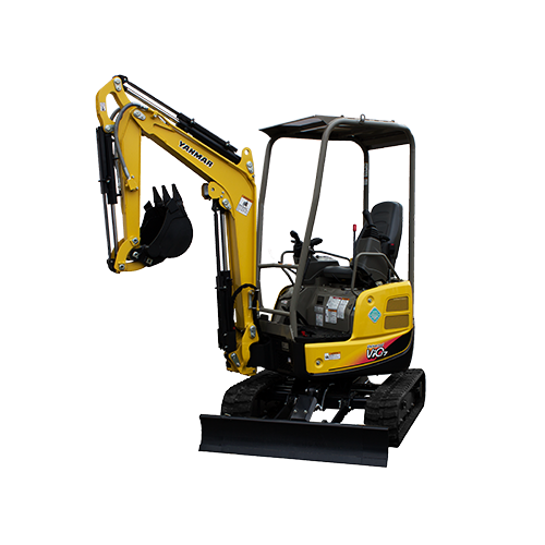Yanmar Vio17 Compact Excavator Rubber Tracks - Used