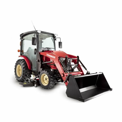 Compact Tractor - 35HP - Cabin with Loader