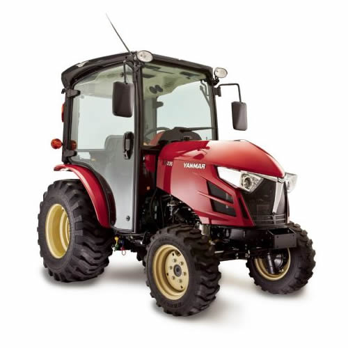 Compact Tractor - 35HP - Cabin with A/C