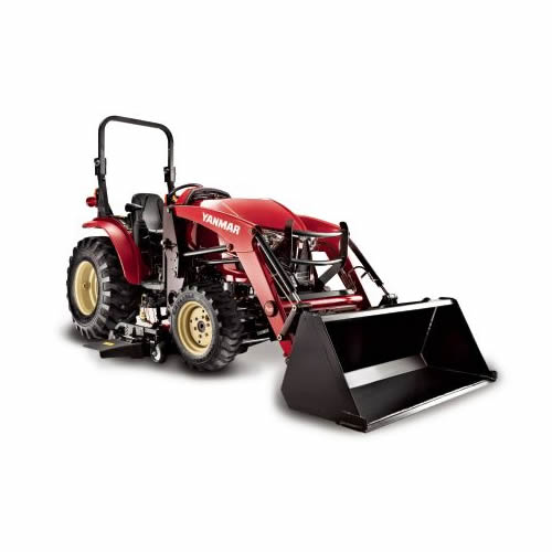 Compact Tractor - 35HP - Rops, Loader and Mower