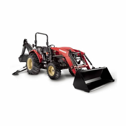 Compact Tractor - 47HP - Rops, Loader and Backhoe