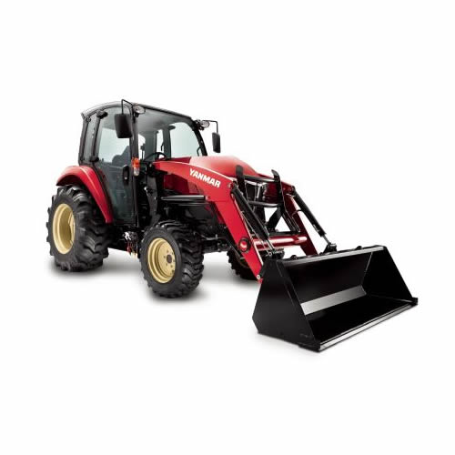 Compact Tractor - 47HP - Cabin with Loader